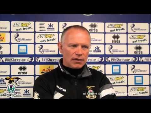 CaleyJagsTV : John Hughes post match interview v Aberdeen : 25/04/15