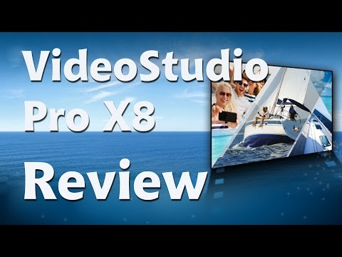 Corel VideoStudio Pro X8 review