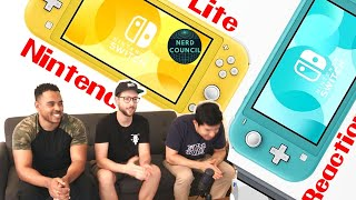 Nintendo Switch Lite Reveal Trailer - Reaction
