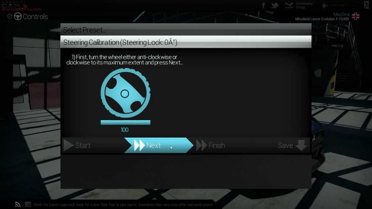 Wheel Project Cars Ps4 Project Cars Wheel Calibration