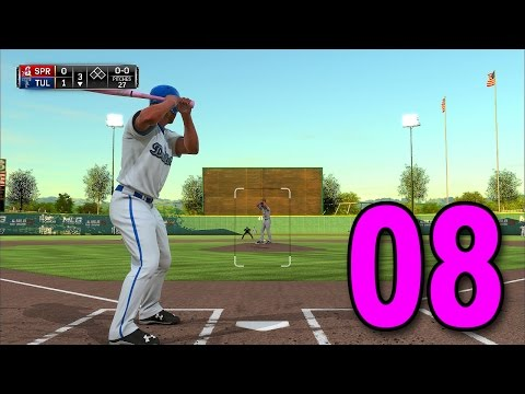 MLB 15 Pitch to the Show - Part 8 - Wait... WE'RE BATTING?! (Playstation 4 Gameplay)