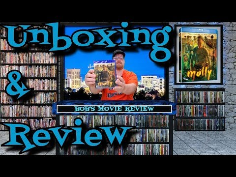 Molly Blu-Ray Unboxing And Review (2017) - Action - Sci-Fi