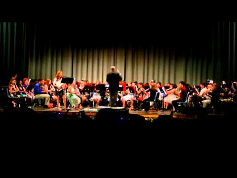 Fantasia for Alto Saxophone - FWBHS Band Spring Prism Concert 23 May 2012