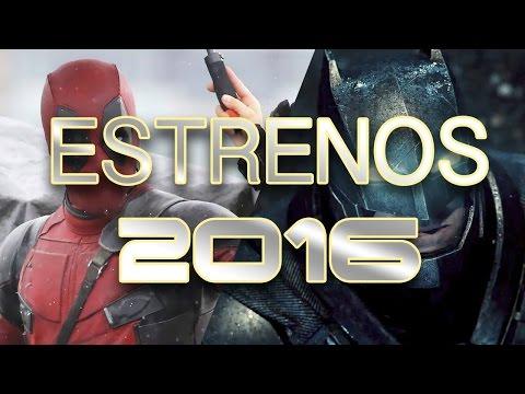 PRÓXIMOS ESTRENOS DE PELÍCULAS 2016