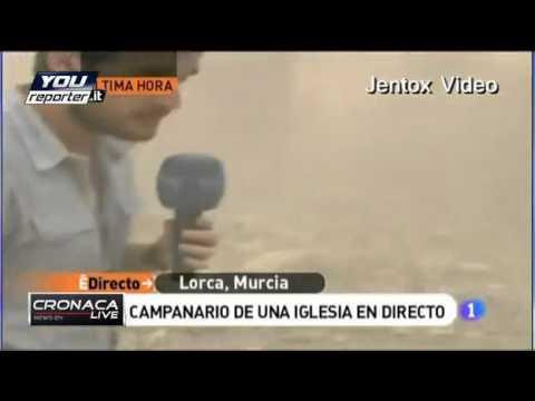 TERREMOTO VERO IN SPAGNA, ANZICHE' IL FANTOMATICO TERREMOTO A ROMA. 11.05.2011 – YOUREPORTER.IT.