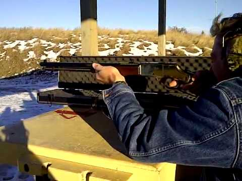 Henry 30-30 In Action Downrange