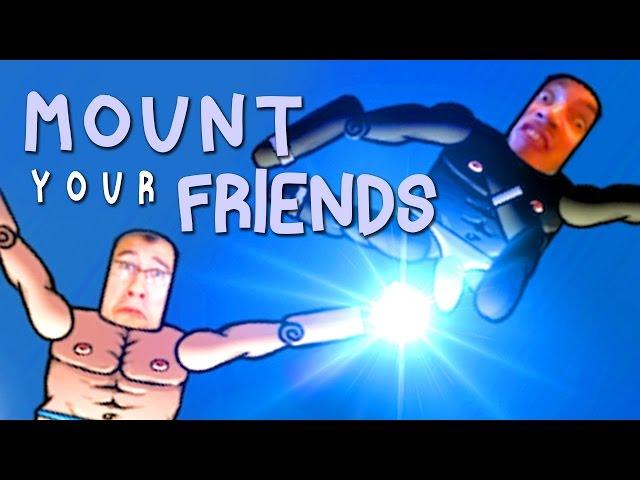 Руководство запуска: Mount Your Friends по сети