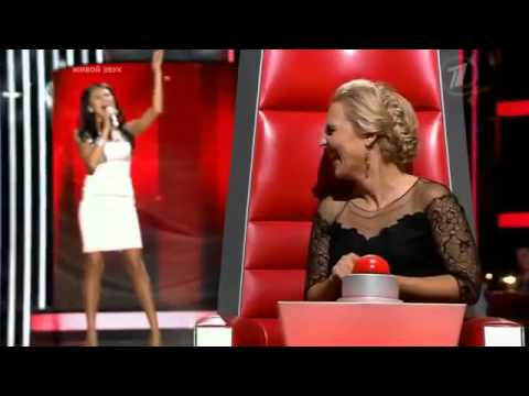 Very Sexy And Beautiful Girl From Russia Performs I Ain't Got You! The Voice! Blind Audition video