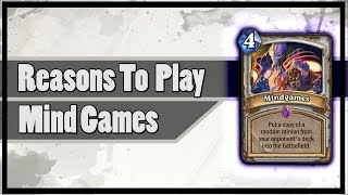 Hearthstone: Reasons To Play Mind Games