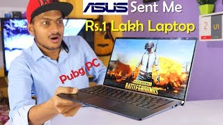 Asus Zenbook 13 inch Laptop Detailed Review in Hindi | intel Core i7 PUBG PC