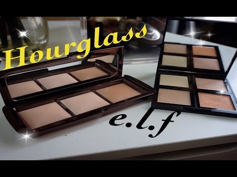 e.l.f. Ambient Palette - Hourglass Ambient DUPE? Review/Swatches