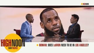 Chris Paul reportedly telling people LeBron James wants to go to Los Angeles   High Noon   ESPN