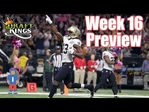 NFL Week 16 Preview & Picks - DraftKings