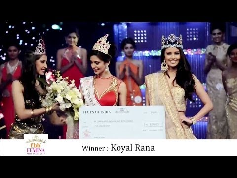 fbb Femina Miss India 2014 - Crowning Moment (FULL)