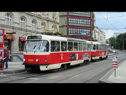 The Trams Of Central Europe, featuring Prague, Budapest, Vienna & Bratislava.