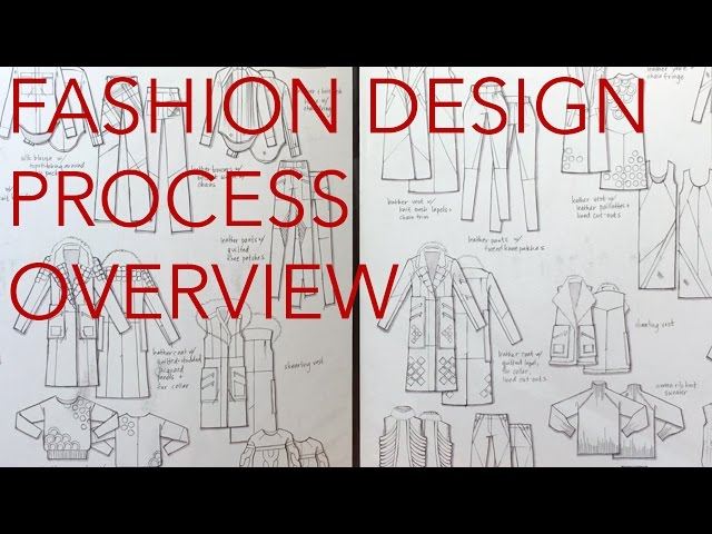 Fashion Design Tutorial 1: Design Process: Overview thumbnail