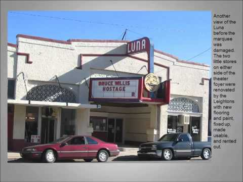 The Luna Theater in Clayton, NM