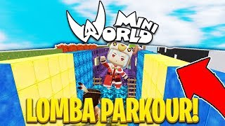 LOMBA PARKOUR ! 😱 w/ GemmaD , Ranel dll - Mini World Block Art [#13]