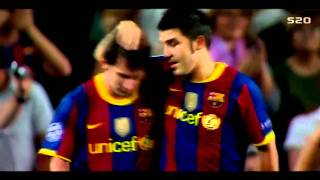 David Villa Top 10 Goals 2010/2011 FC Barcelona/Spain  !! + Commentary HD 720p !!!!