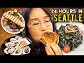 24 HOURS IN SEATTLE 🐟 ft Pike Place Market