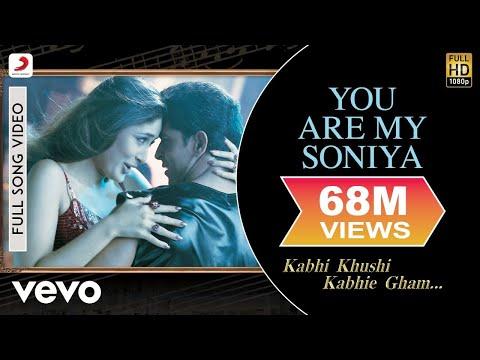K3G - You Are My Soniya | Kareena Kapoor, Hrithik Roshan
