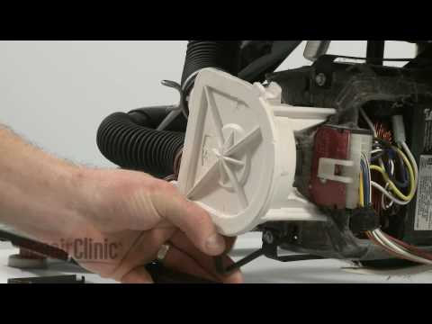 Drain Pump Replacement (part #3363394) - Whirlpool/ Kenmore Washer Repair