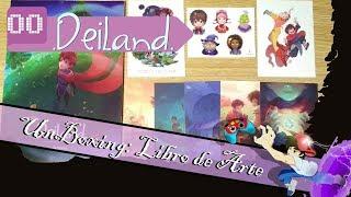 Libro de Arte Deiland - Unboxing