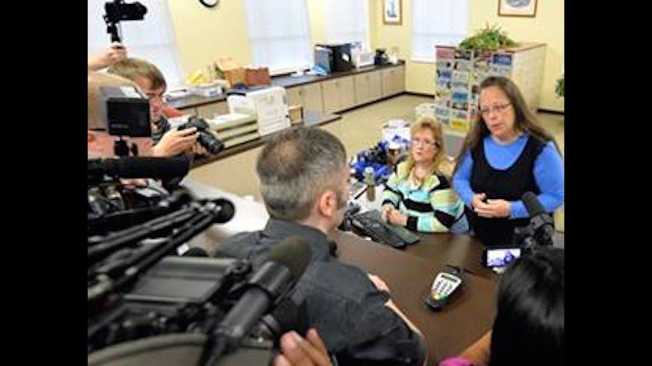 Anti-Gay Marriage Clerk Kim Davis Goes To Jail