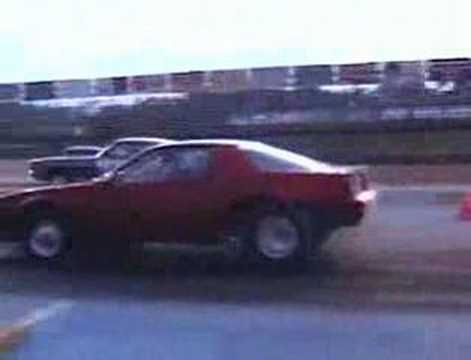 hilarious drag racing mishap Video