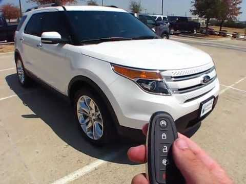Ford Explorer 2011 Limited >> 2012 Ford Explorer Limited EcoBoost Start Up, Exterior/ Interior Review - YouTube