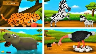 Children Learn animals | Feed the animals | Educational Games