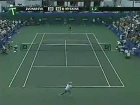 Anastasia Myskina vs Vera Zvonareva | 2004 Highlights