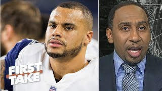 Dak Prescott shouldn't focus on making more money than Carson Wentz – Stephen A. | First Take