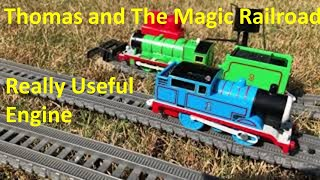 Tomy/trackmaster Thomas and The Magic Railroad: really useful engine