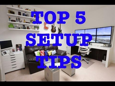 Top 5 Tips For The Best Ultimate Desk Setup !