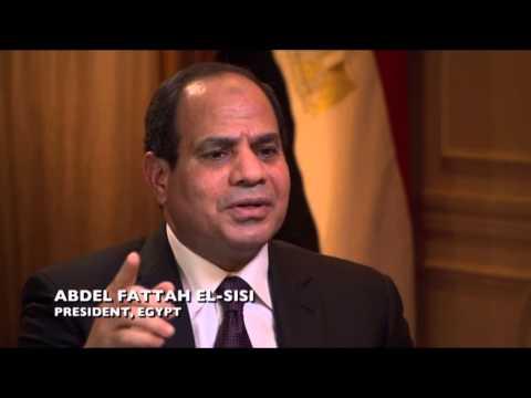 Charlie Rose interviews Egyptian President Abdel-Fattah El-Sisi