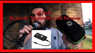 DIY Bluetooth microphone JETech bluetooth transmitter and Reciever