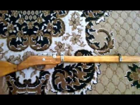 Помповое ружье самодельная