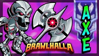 Fun Axe Legends Gameplay! • Brawlhalla 1v1 Diamond