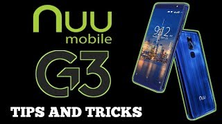 Nuu Mobile G3: Tips and Tricks