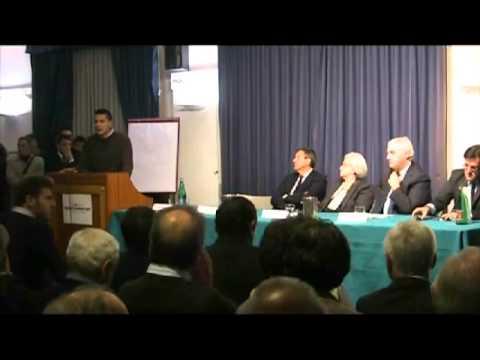 Intervento Mario Panzarella, iniziativa comitato Bersani con Rosy Bindi.