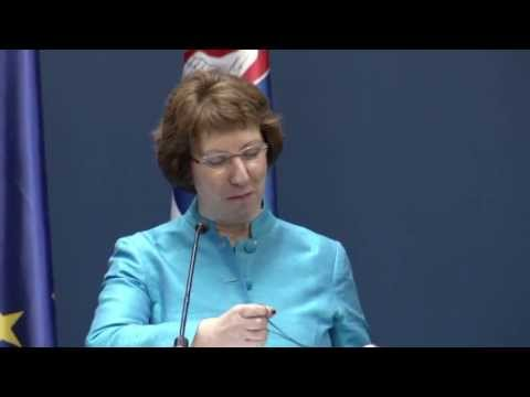 Catherine ASHTON visit to Serbia