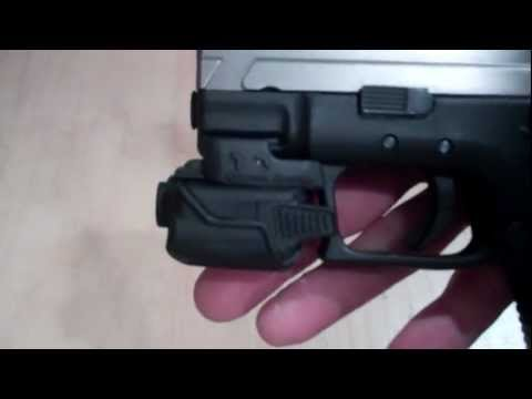 Crimson Trace CMR-203 Green Laser Holsters by MULTI HOLSTERS