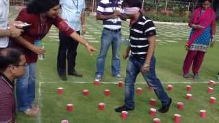 Team Building Activities - Blind Fold