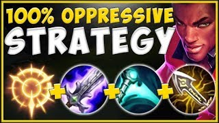 NEVER LOSE LANE AGAIN! LUCIAN TOP IS 100% TOO OPPRESSIVE! LUCIAN TOP GAMEPLAY! - League of Legends