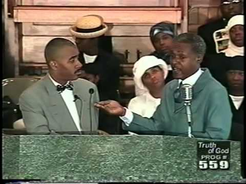 Pastor Gino Jennings Truth of God Broadcast 559-561 Part 1 of 2  Marvin Muhammad Debate