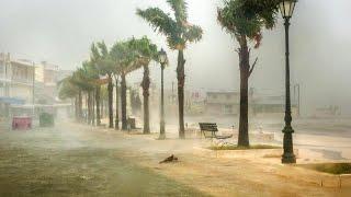 Mar Jonio meridionale sferzato da un uragano