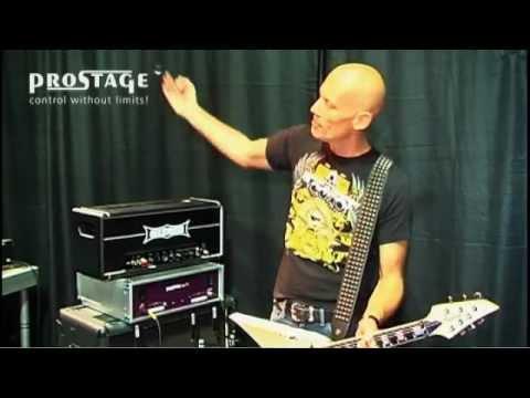 Wolf Hoffmann (Accept) erklärt seine Gitarren Anlage