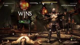 Mortal Kombat XL ao vivo chefe da invasão
