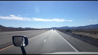 BigRigTravels LIVE! Interstate 15 Southbound north of Las Vegas,  Nevada